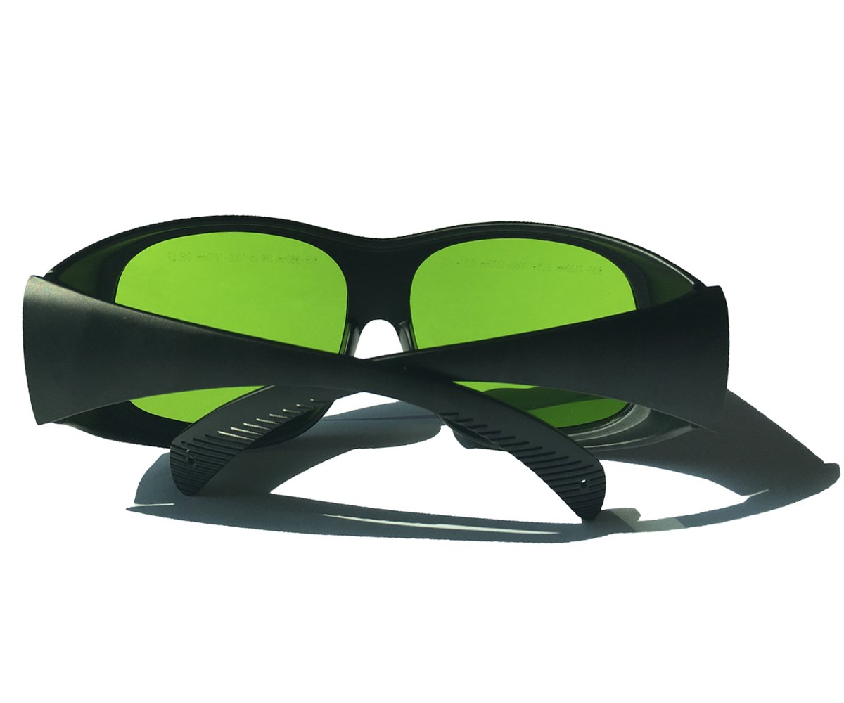 LP-LaserPair Laser Glasses 800 - 1100nm Absorption Type of Laser Protective Glasses Diode, Nd:yag Laser Protection Glasses Multi Wavelength 808nm, 980nm, 1064nm, Laser Safety Glasses by LP-LaserPair (Image #5)