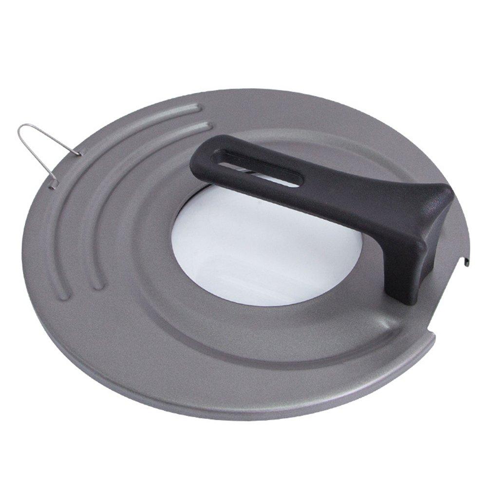 MyLifeUNIT Universal Standing Pot Lid KT17CQ081 Tempered Glass Pot Lid Fits 10-12 Inch Pots Pans 10//11 // 12 inch, Black