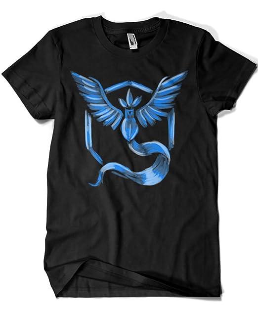 1559-Camiseta Pokemon Go Team Mystic (Legendary P,) : Amazon.es: Ropa y accesorios