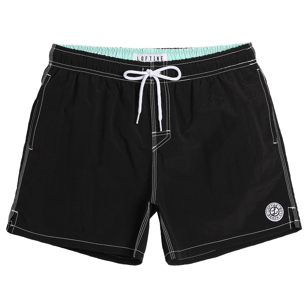 ce3e29f005 MATERIAL:Loftine Men\'s Swim Trunk is made of 100% nylon;Less water  absorption significantly reduces garment drying time. Our mens bathing suits  all get ...