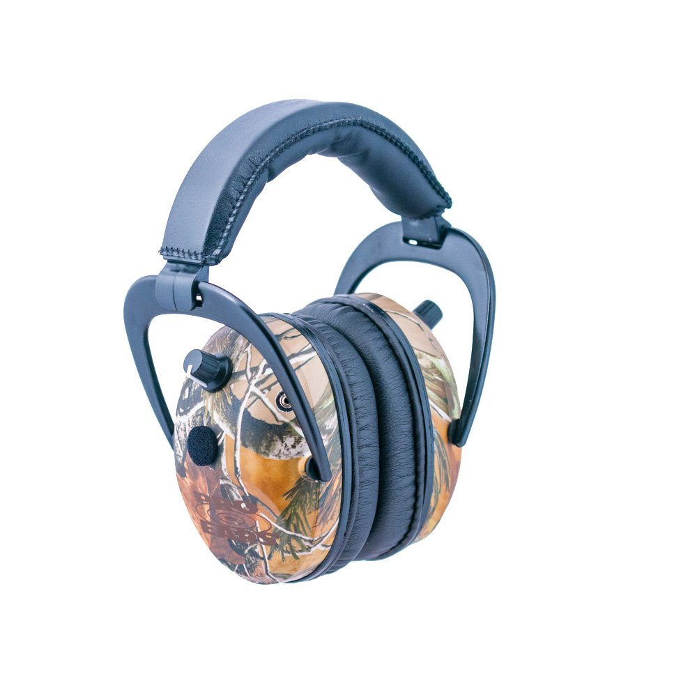 Pro Ears - Predator  Gold - Hearing Protection and Amplfication - NRR 26 - Contoured Ear Muffs - Realtree APG Camo