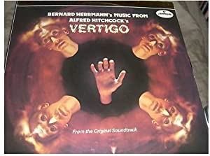 bernard herrmann vertigo original soundtrack lp import