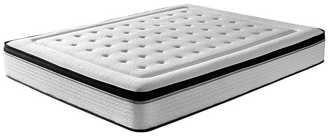RestBed Bio Memory, Colchón Viscoelástico INNOGEL, Blanco, 150x190 cm: Amazon.es: Juguetes y juegos