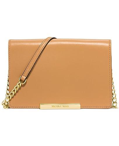 michael kors lana wallet clutch peanut handbags amazon com rh amazon com