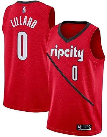 52a5ca99ce8e Damian Lillard Portland Trail Blazers 201819 Swingman Jersey Red-Earned  Edition