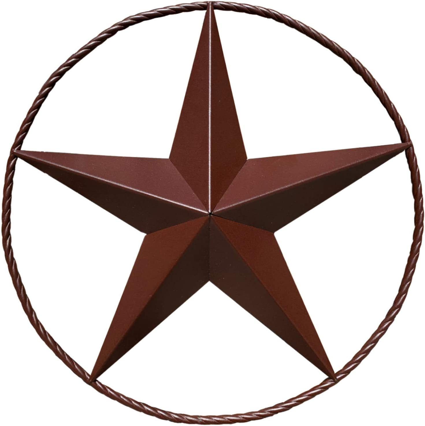 Barn Star - Metal Stars for Outside Texas Stars Art Rustic Vintage Western Country Home Farmhouse Wall Decor (24