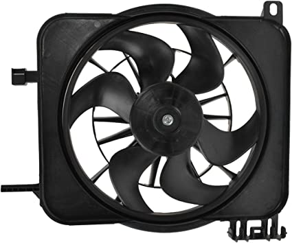 Sunbelt Radiator And Condenser Fan For Chevrolet Cavalier Pontiac Sunfire GM3115106 Drop in Fitment