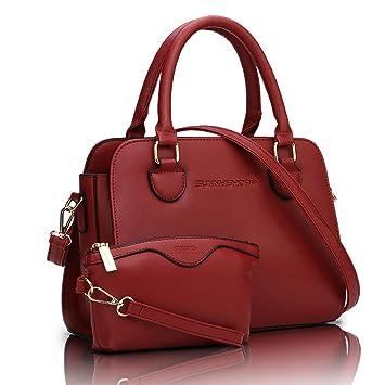 main porté Auburn PU femme cartable sac sac Sac à femmes sac épaule cuir sac de ZRxAAF