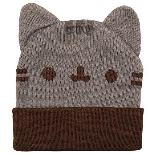 Pusheen Beanie Hat with Ears (Cat Beanie)
