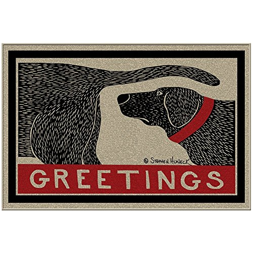 Humorous Sniffing Welcome Doormat Greeting product image