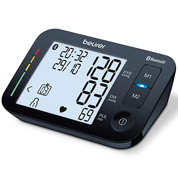 Beurer BM54 - Tensiómetro de brazo con Bluetooth, color negro: Amazon.es: Salud y cuidado personal