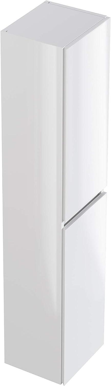 Marca Amazon -Movian Argenton - Columna de baño, 30 x 27 x 140 cm, blanco