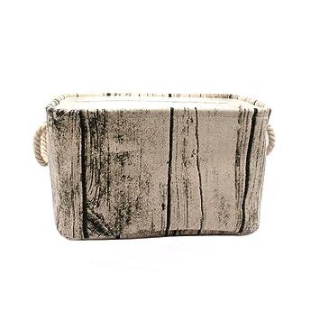 Amazon.com: Jacone - Cesta de almacenamiento rectangular de ...