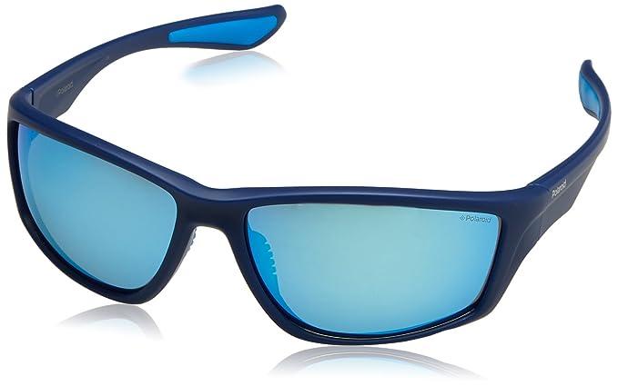 Polaroid PLD 7015/S 5X ZX9, Gafas de Sol para Hombre, Azul (Bluette Azure Grey Speckled Blue Pz), 64: Amazon.es: Ropa y accesorios