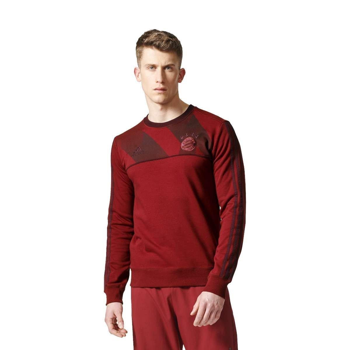 Adidas Herren FC Bayern München Crew Sweatshirt
