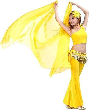 Calcifer 250 cm * 120 cm gasa sólido bufanda danza del vientre ...