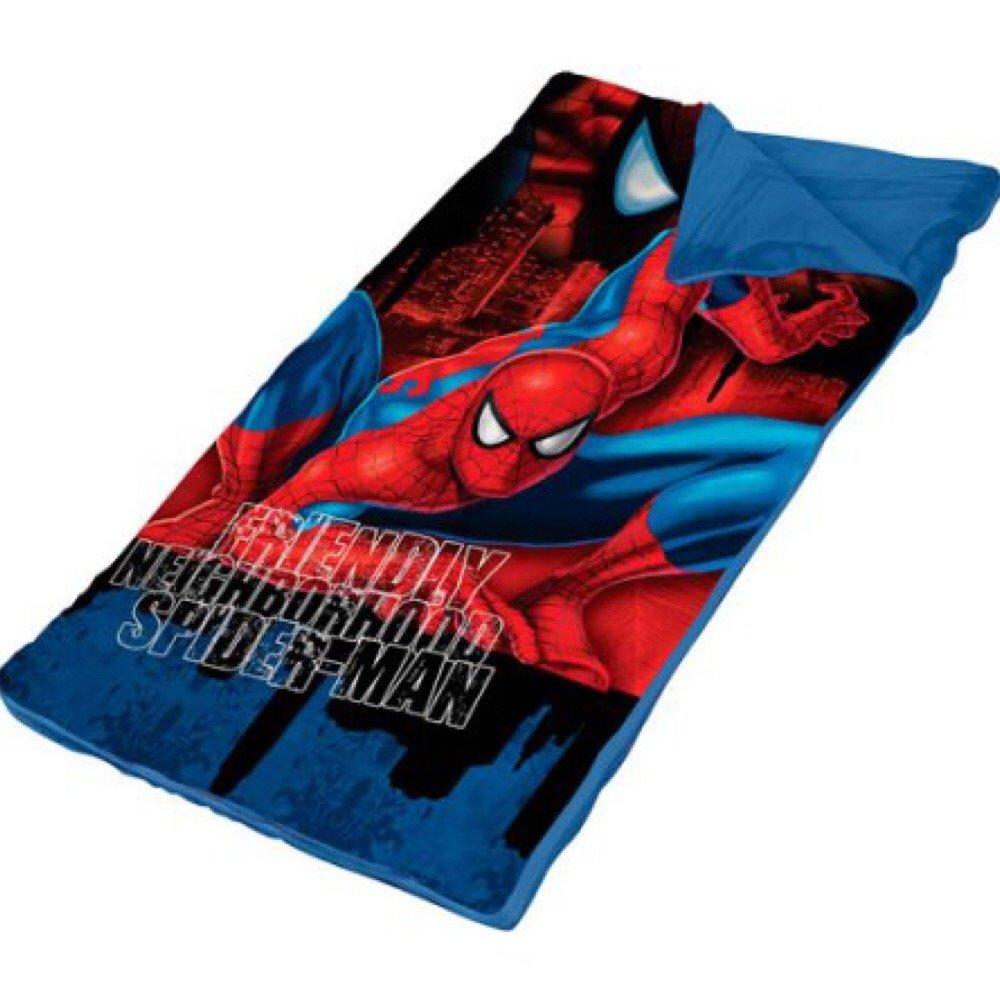 Marvel Spider-Man Spider Sense Slumber Saco y Bolsa bandolera - Juego de niños: Amazon.es: Hogar