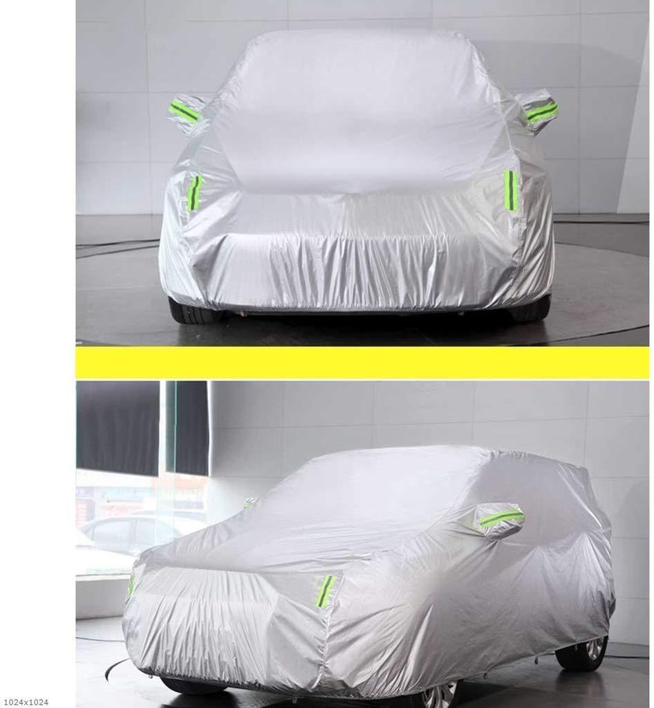 Ropa de autom/óvil Impermeable//A Prueba de Nieve//A Prueba de Sol//A Prueba de Polvo//A Prueba de Viento//Ara/ñazos//Anti-UV Protecci/ón Completa Cubi Gpzj Cubiertas de autom/óviles Funda de autom/óvil