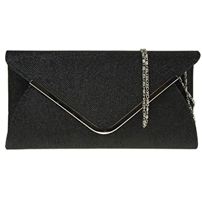 Classic Luxury Ladies Envelope Clutch Chain Party Prom Evening Shoulder Handbag