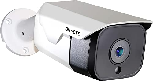 Audio ONWOTE 5MP HD PoE IP Security Camera Outdoor
