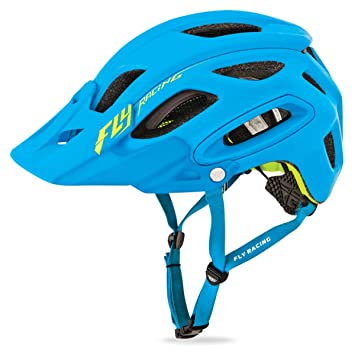 Fly Racing Casco para bicicleta de montaña enduro Freestone Mate de Color Azul De/HI