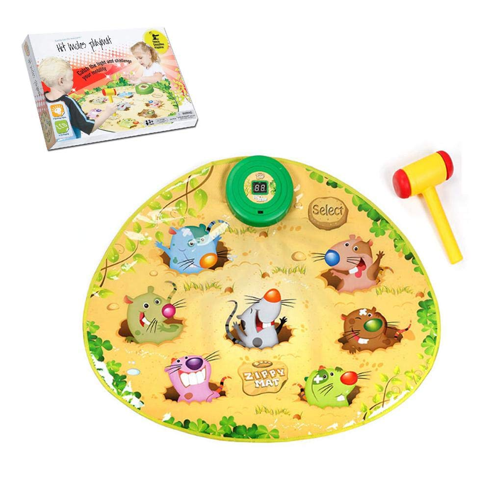 Zigtee Children's Toy Whac a Mole Game Dance Mat Puzzle Music Pad by Zigtee (Image #6)