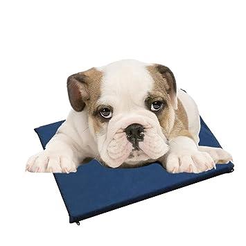 Aolvo Pet Shop almohadilla de refrigeración/cama, alfombrilla de refrigeración de agua para perros