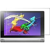 Lenovo タブレット YOGA Tablet 2 8.0 強化ガラスフィルム Vikoo 採用0.33mm  0.25D 硬度9H YOGA Tablet 2 スフィルム ラウンドエッジ加工 防指紋、撥油性 耐衝撃 (YOGA Tablet 2, 強化ガラスフィルム)