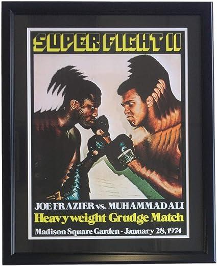 Muhammad Ali /& Joe Frazier 8x10 Reprint Photo Mint Condition