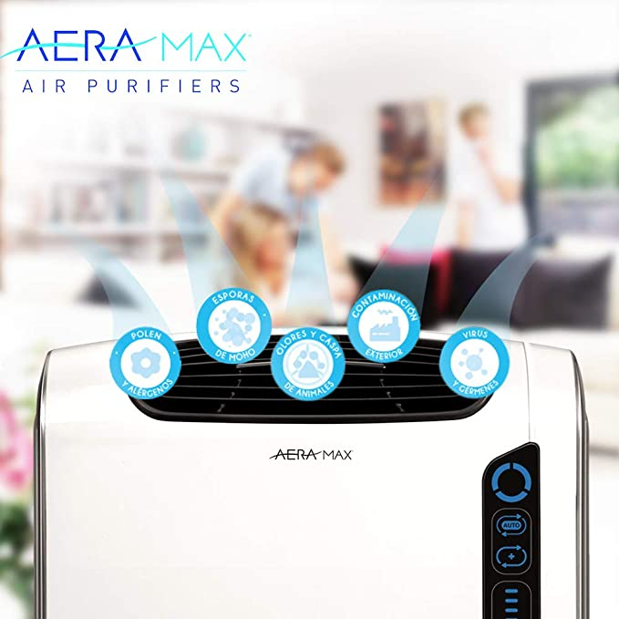AeraMax DX55 Purificador de Aire Mediano, 70 W, multicolor: Amazon ...
