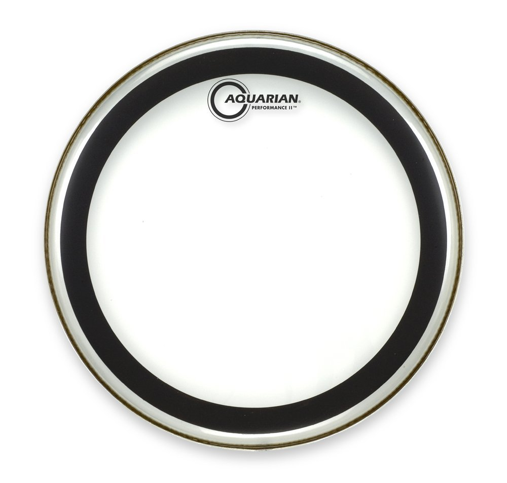 Aquarian PF22 Drumheads Performance-2 22-Inch Bass Drum Head
