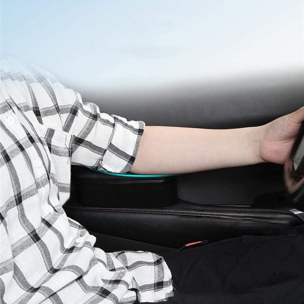 hinffinity Support coudi/ère de voiture pour accoudoir de porte et console centrale de voiture rallonge de coude et avant-bras avec repose-poignet r/églable en hauteur