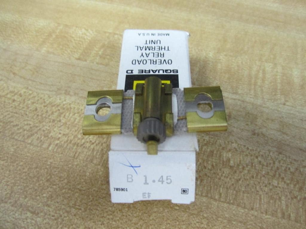NEW SQUARE D OVERLOAD RELAY THERMAL UNIT LOT OF 2 1-B15.5