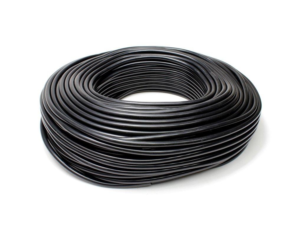 HPS HTSVH10-BLKx250 Black 250' Length High Temperature Silicone Vacuum Tubing Hose (40 psi Maxium Pressure, 10mm ID)