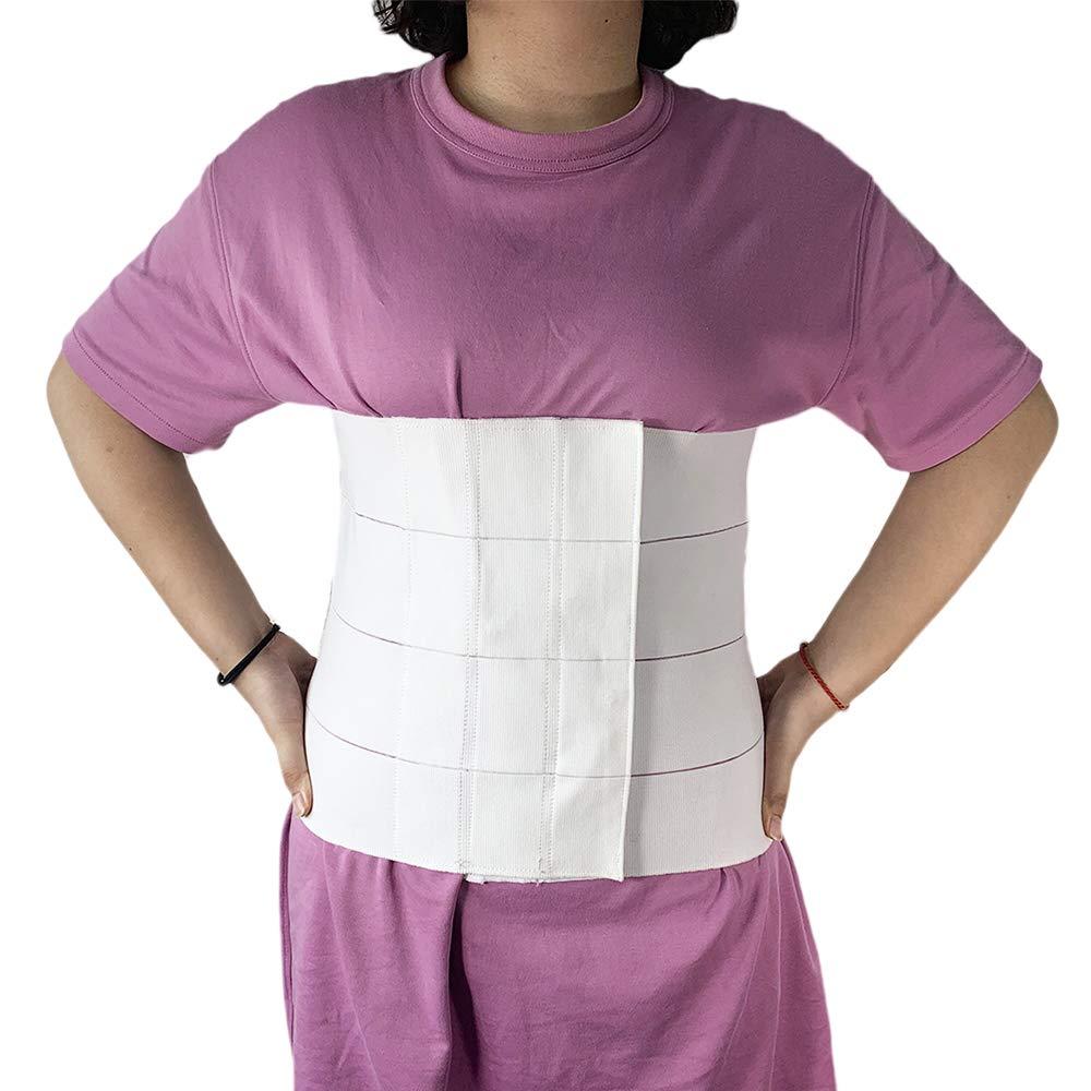 32-42 in Abdominal Binder Post Surgery for Women Men Belly Binder Stomach Compression Abdominal Belt After Surgery Abdomen Binder Compression Support Waist Binder Bariatric C Section Belly Wrap
