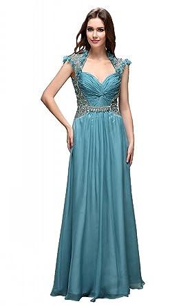 Festamo Long Gorgeous Sequins Evening Dresses Fashion Clothes Womens Evening Wear - Green -