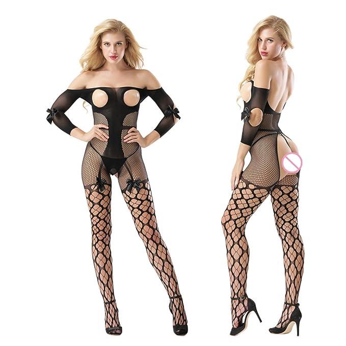 Amazon.com: elepbaba mujeres Sexy Lencería Entrepierna ...