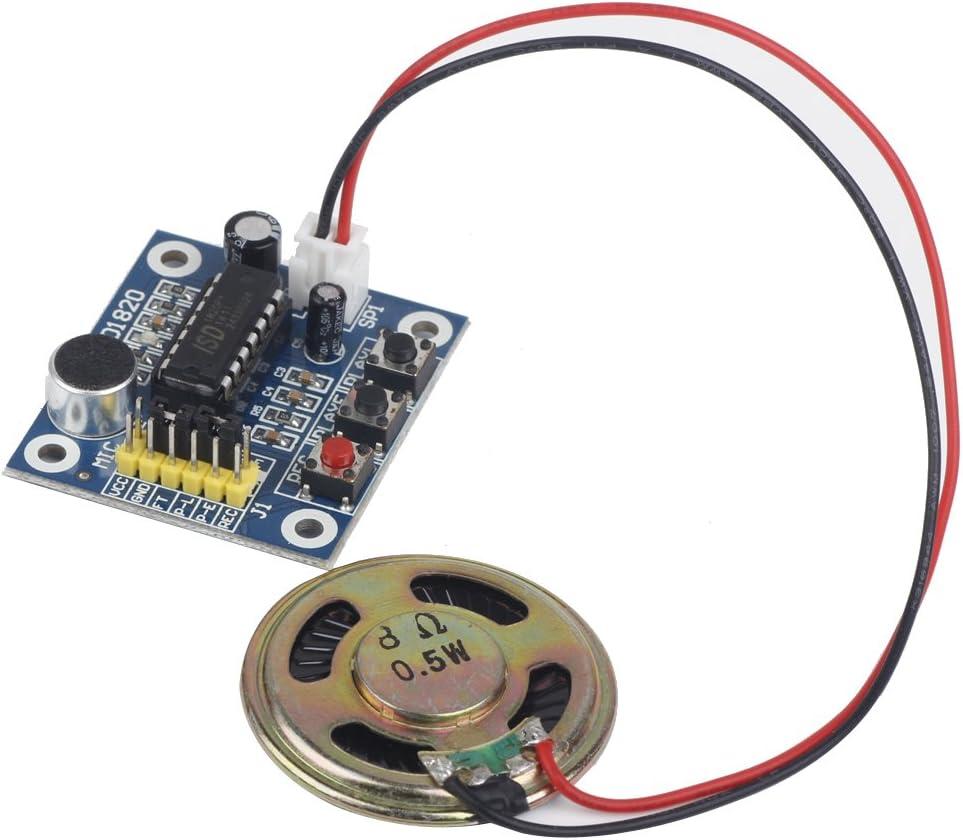 haut-parleur son audio Enregistreur d/'enregistrement vocal ISD1820 avec micro