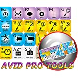 4Keyboard AVID PRO Tools Keyboard Stickers - Unbeatable Quality