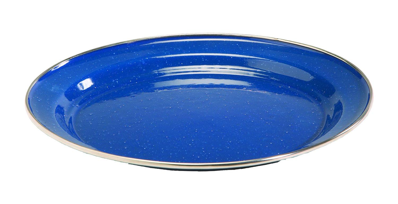 Texsport Plate Enamel 10'' Dinner Ss Rim Md: 14532