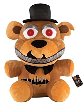 Five Nights At Freddys Nightmare Bonnie Freddie Peluche Standard