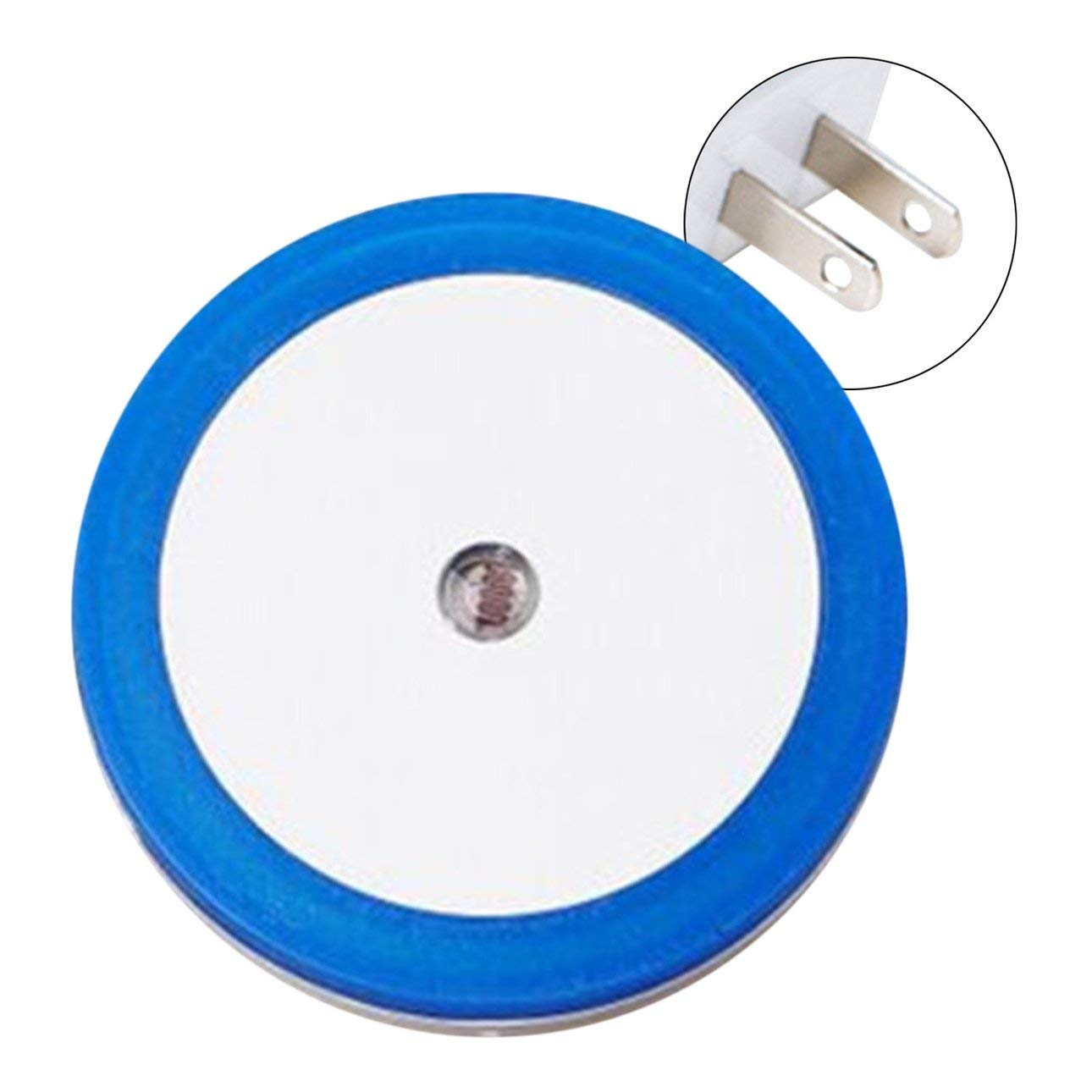 Liobaba Small Round Shape Wall Light LED Induction Lamp Nightlight Automatic Switch Light Sensor Household Supplies Energy Saving