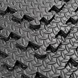 Interlocking Exercise Protective Tile Flooring 216 Sq Ft Gym Floor Mat With Ebook
