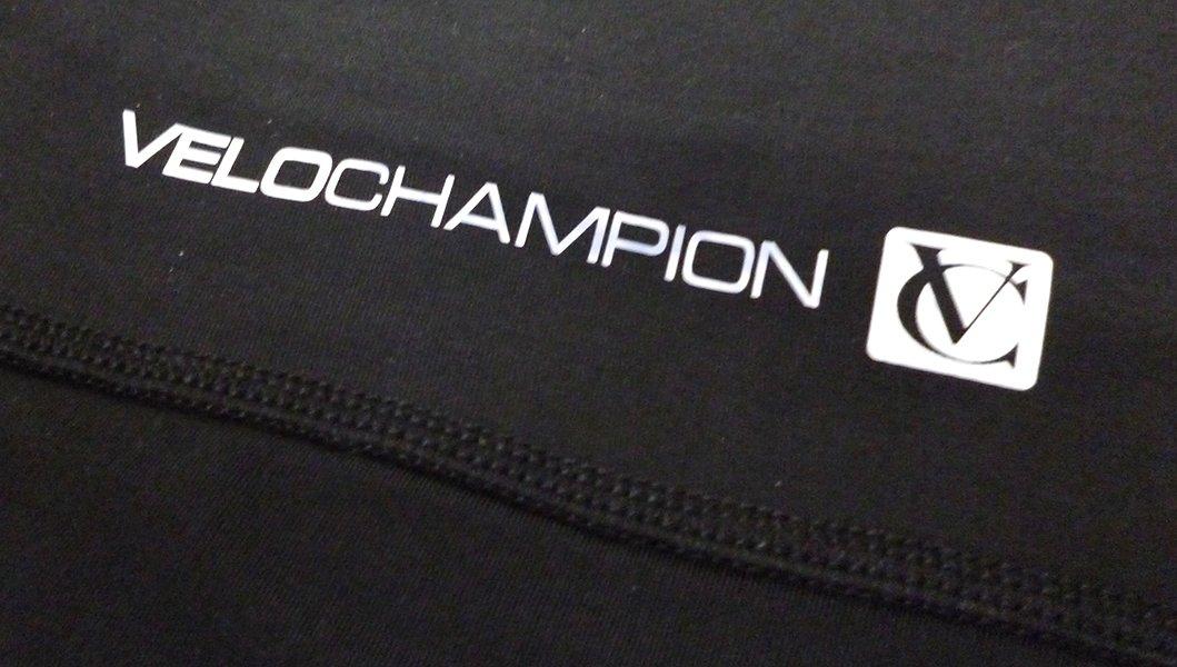VeloChampion Thermo Tech Lite Calentadores de piernas para Ciclismo Negros Leg Warmers Black