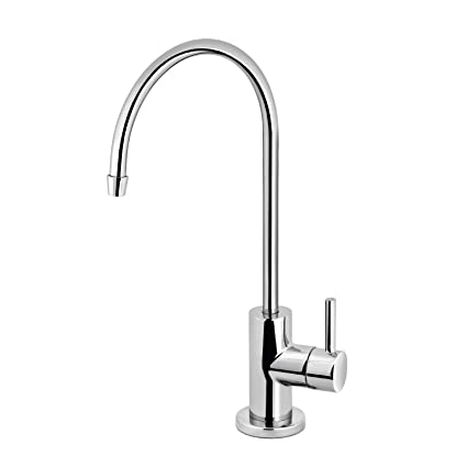 Modern Chrome Water Filter Faucet Drinking Water Faucet Reverse Osmosis Filtration System And Kitchen Sink Beverage Faucet Simple 3 Piece Easy