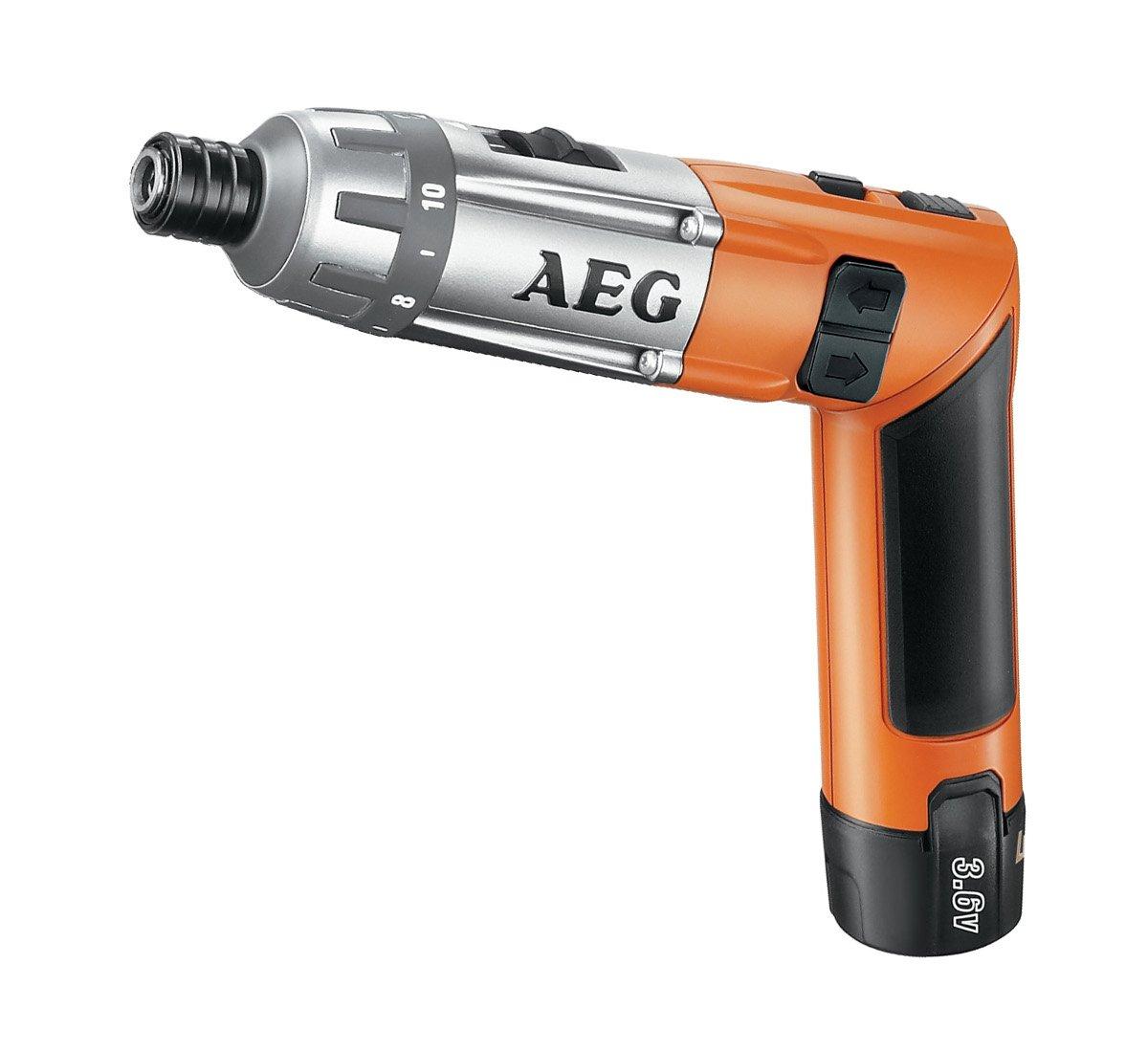 AEG 4935413165 SE Visseuse sans fil Batterie Li-Ion 3, 6 V / 1, 5 Ah (Import Allemagne)