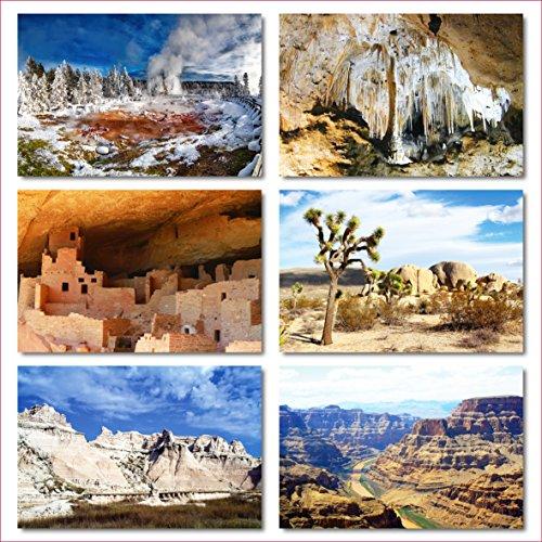 US National Parks postcards pack - Set of 25 individual postcards featuring America's national parks and natural landmarks Photo #5