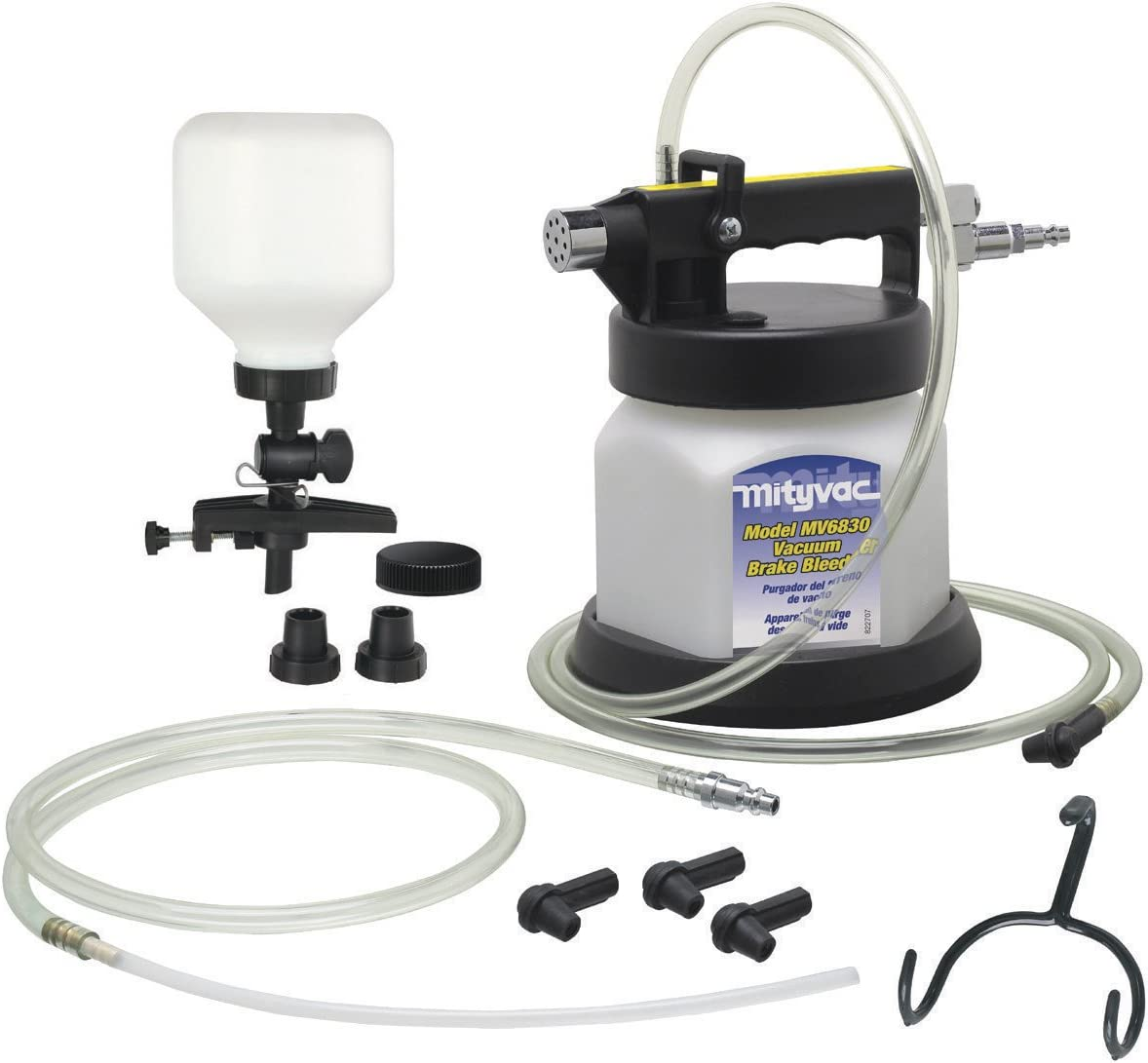Mityvac Premium Pneumatic Air Operated Brake and Clutch Bleeding Kit