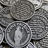 CourageInStone.com Set of 10 Saint Patrick Patron of the Irish Pocket Token Coins