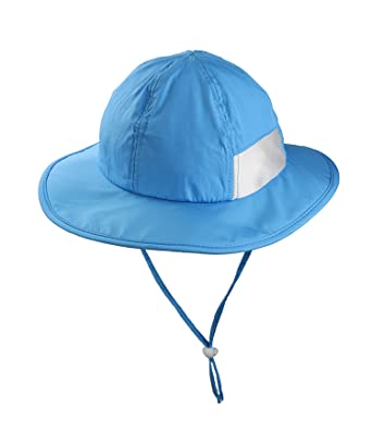 dae0efbc0efb1 ZZLAY Wide Brim Sun Hat SPF 50+ UV Protection Breathable Adjustable Cap for  Baby Toddler